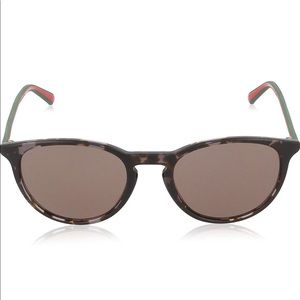 Gucci Havana Red Frame/Brown Lens Non-Polarized